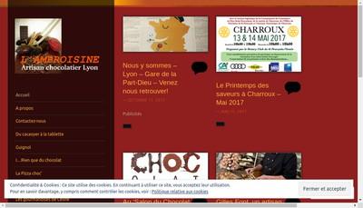 Site internet de L'Ambroisine