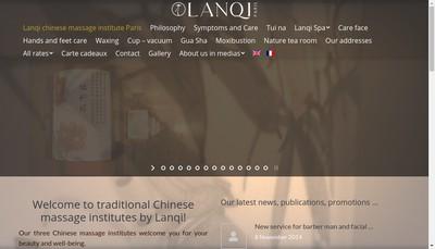 Site internet de Lanqi