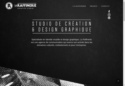 Site internet de La Raffinerie