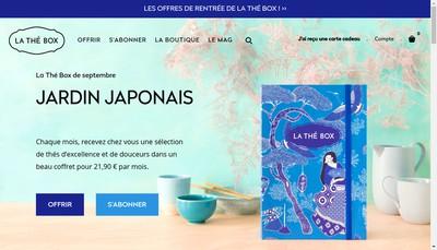 Site internet de La The Box
