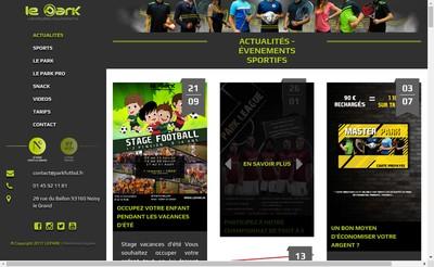 Site internet de Joga Futbol