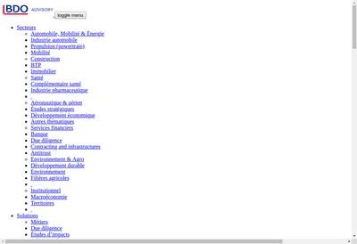 Site internet de Bipe Analytics