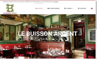 Site internet de Le Buisson Ardent
