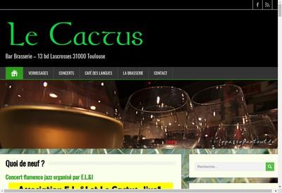 Site internet de Le Cactus