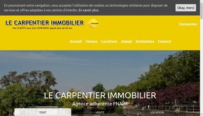 Site internet de Cabinet le Charpentier