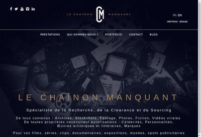 Site internet de Le Chainon Manquant