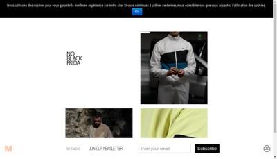 Site internet de Le Labo