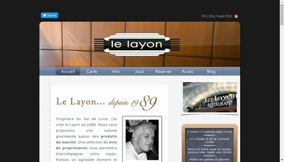 Site internet de Le Layon