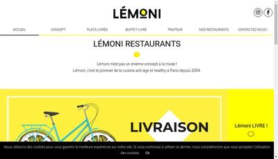 Site internet de Lemoni Cafe