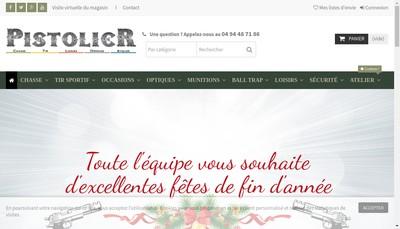 Site internet de Le Pistolier