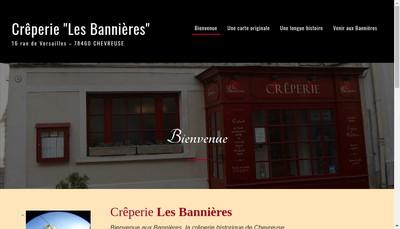 Site internet de Les Bannieres