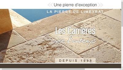 Site internet de Les Carrieres de Bontemps