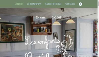 Site internet de Les Enfants Gat'Thes