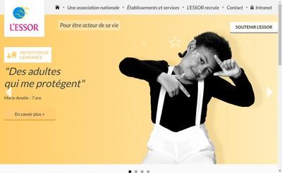 Site internet de L'Essor