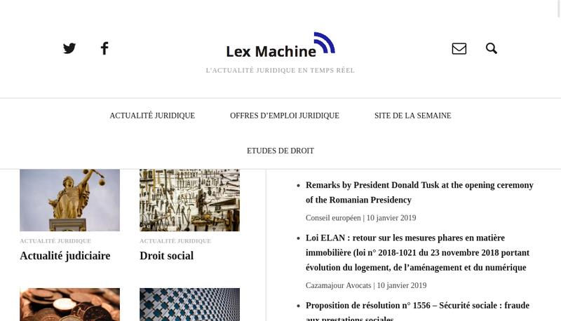 Capture d'écran du site de Thierry Vallat