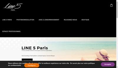 Site internet de Line 5
