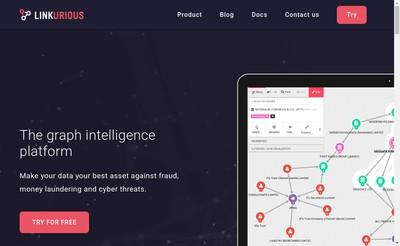 Site internet de Linkurious