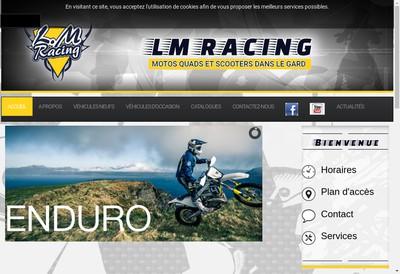 Site internet de Lm Racing