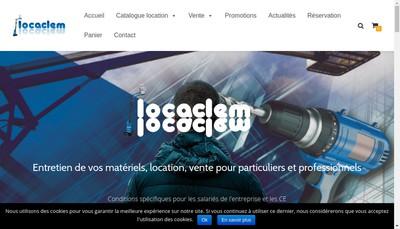 Site internet de Locaclem