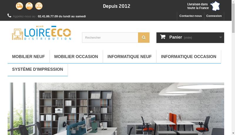 Capture d'écran du site de Eds Industrie