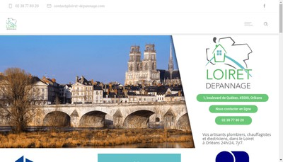 Site internet de Loiret Depannage, Stars Services, Aspc 45, Gtcles Com , Loire & Depannage