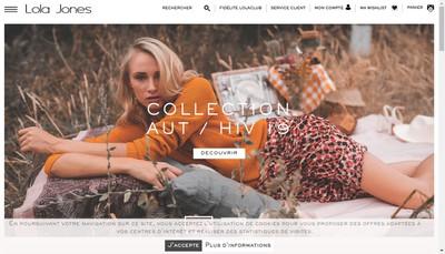 Site internet de Lola Jones