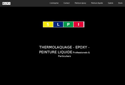 Capture d'écran du site de SLPI