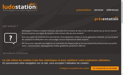 Site internet de Ludostation