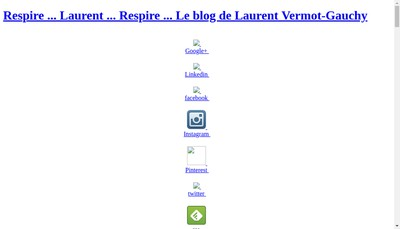 Site internet de Laurent Vermot-Gauchy