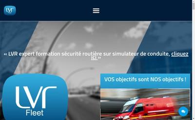 Site internet de Lvr Fleet