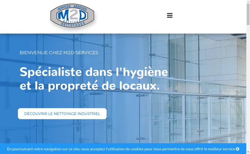Capture d'écran du site de Amenagement Renovation Services - a