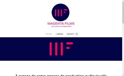 Site internet de Magenta Films