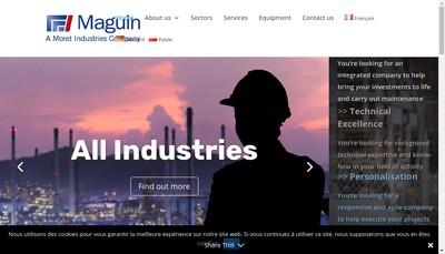 Site internet de K Maguin