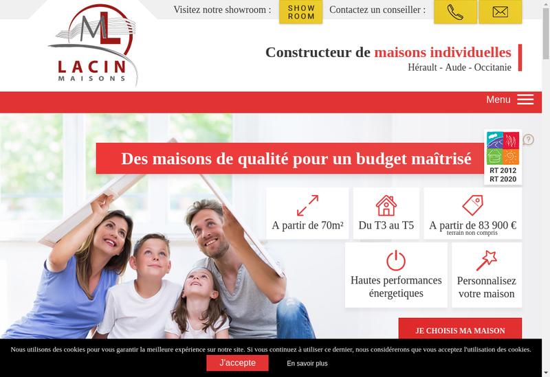 Capture d'écran du site de L'Cmi