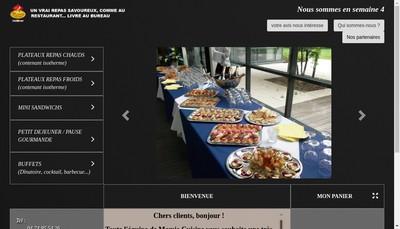 Site internet de Mamie Cuisine Traiteur