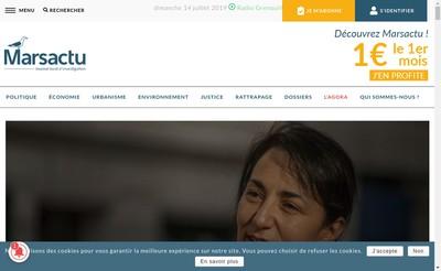 Site internet de Marsactu