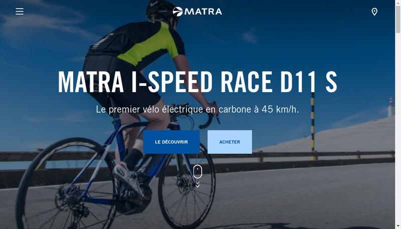 Capture d'écran du site de Matra Automobile Sa-Matra 72-Matra M72