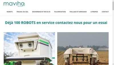 Site internet de Maviho Solutions