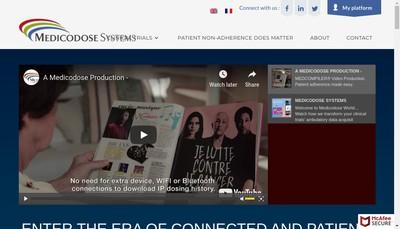 Site internet de Medicodose Systems