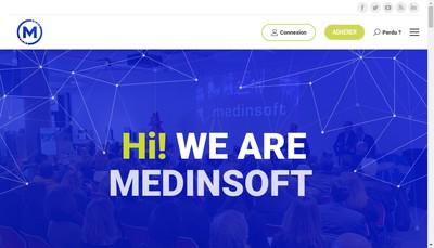 Site internet de Medinsoft