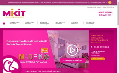 Site internet de Mikit