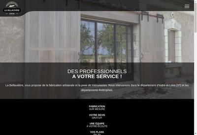 Site internet de La Bellaudiere