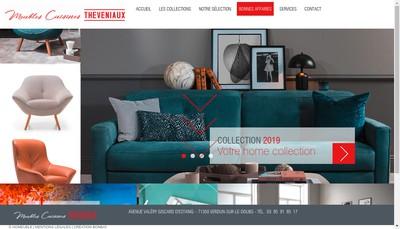 Site internet de Meubles Theveniaux