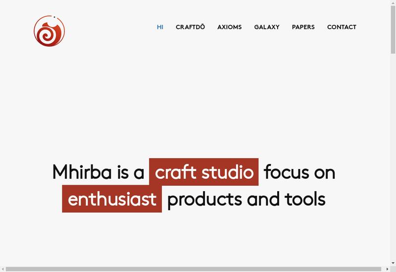 Capture d'écran du site de Mhirba