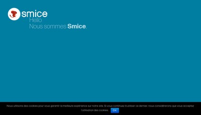 Site internet de Smice
