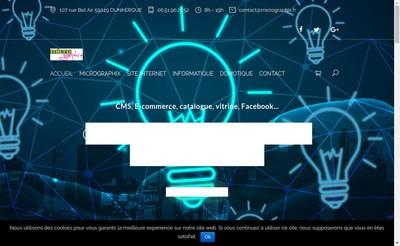 Site internet de Micrographix