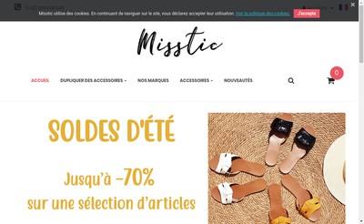 Site internet de Misstic