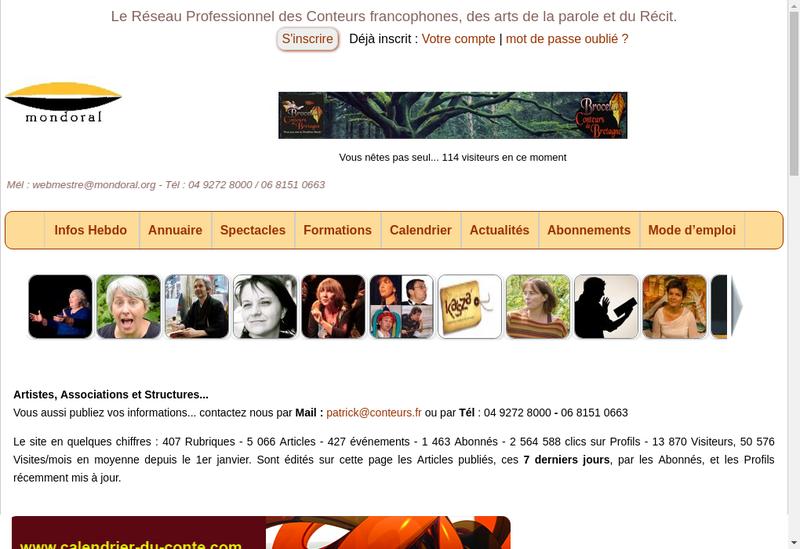 Capture d'écran du site de Provence Infos