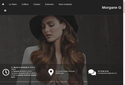 Site internet de Morgane G