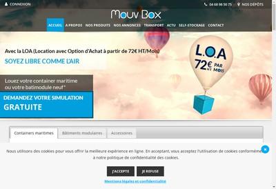 Site internet de Mouvbox